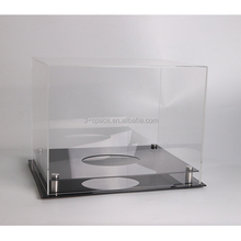 wholesale Regulation Size clear Basketball Volleyball Soccer Ball Acrylic Display Case