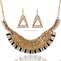 Fashion 22k gold necklace prices wholesale T215