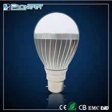 5w high lumens aluminium bulb zhong shan sales led bubl lighting 3w 5w 7w 9w led light bulb