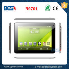 Verified factory OEM capacitive touch screen 9.7 inch 1024x768 android 4.2 tablet