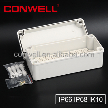 Factory price non-conducting sealed ip67 plastic enclosure