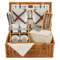 HOT High Quality Eco-friendly empty picnic basket wholesale