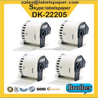 brother DK-22205 DK22205 DK 22205 DK-2205 DK 2205 DK2205 DK205 205 Compatible Thermal barcode label roll adhesive