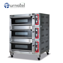 2016 Furnotel High Quality Italian Gas Bakery Prices Of Gas Bakery Ovens Machinery