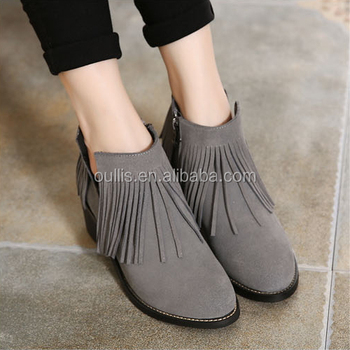ankle boots high quality shoes popular designs 2017 PM4062