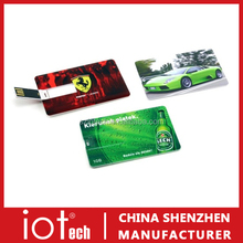 Plastic Business Card USB Flash Drive Pen Drives Personalized