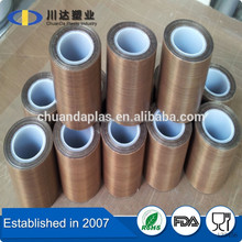 0.18mm thickness PTFE tape by quality manufacture with ROHS certificate
