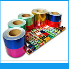 Food Grade Colored Chocolate Wrapper Aluminum Foil