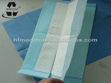Disposable medical Underpad/cap/shoes
