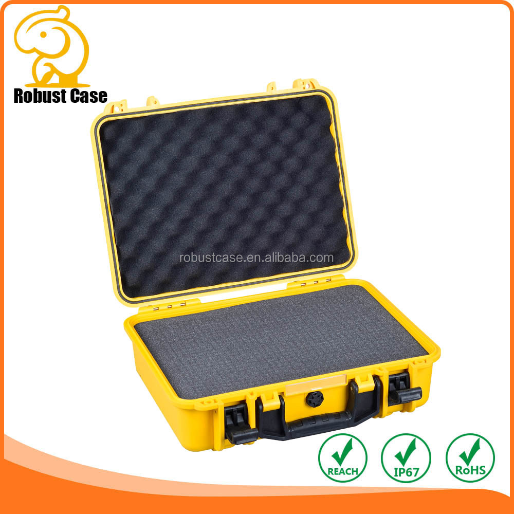 IP67 hard plastic case with Pick And Pluck Foam 428*350*153mm