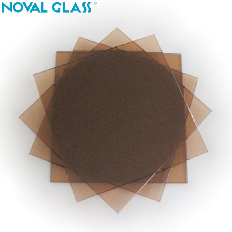Offer 5.5mm 5mm 4mm Europe Golden bronze Tinted Float Glass Factory