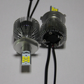 High lumen led h4 motorcycle headlight 6000K h4 12v 100/90w halogen bulb 16 C ree chip led h4 high low