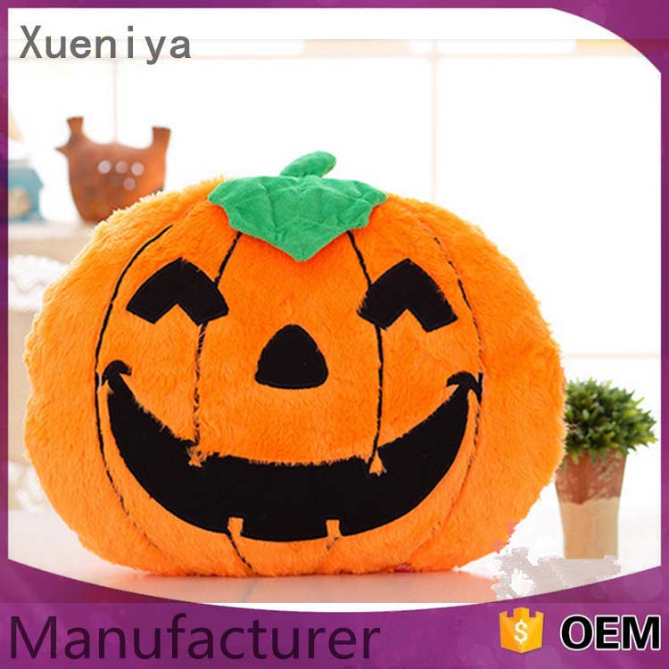China Toy Factory Wholesale Custom Soft Stuffed Halloween Pumpkin