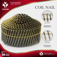 New design decorative nail heads for furniture coil fence gun nail with great price