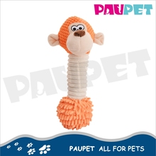 Top sale cheap price hot fashion shammie plush stuffed monkey dog toy