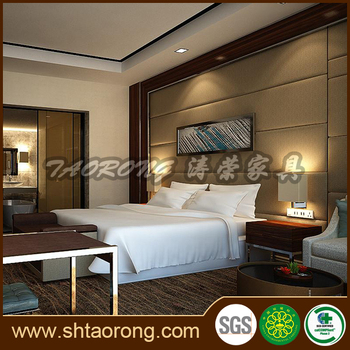 Modern luxury hotel bedroom furniture set HS-054