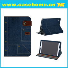 "8"" 16GB Tablet Cover Flip Jean Leather Case for Samsung Galaxy Active"