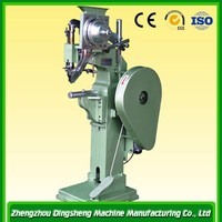 High capacity good quality luggage riveting and cutting machine