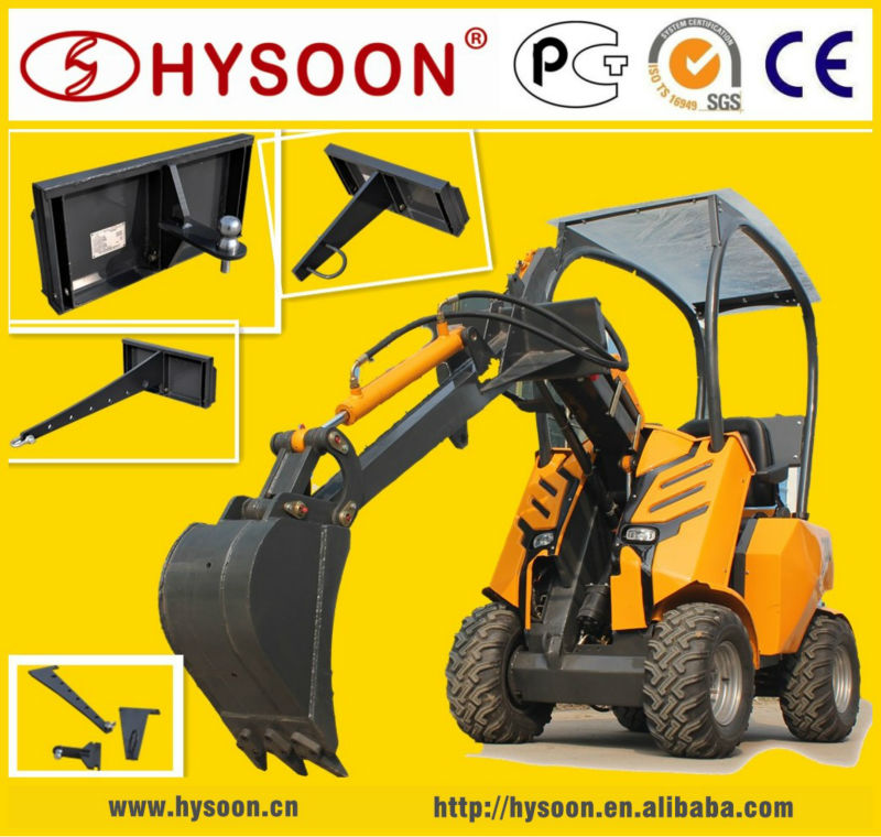 Chinese small wheeled articulated mini loader