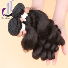 Cheap Brazilian Virgin Hair Short Weaves Loose Deep Wave Brazilian Virgin Hair Bundle with Closure
