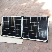 Best output high efficiency 80w folding pv panel module with best price