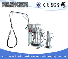 Insulating Glass Manual Sealing Machine/ Double Glass Two Component Glue Coating Machinery