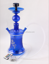Hot selling Royal Shisha Led Light al fakher Glass Hookah