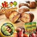 Natural Taste Nut and Kenel Snacks--Ready to eat chestnuts snacks