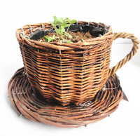 wicker baskets for plants wicker plant pots black plastic pots for nursery plants