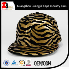 2015 popular leopard leather vintage new york hiphop caps