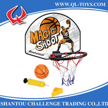 Promotional Sport Toy Indoor And Outdoor Fun Mini Basketball Board Toy For Kids With PVC Ball And Inflator