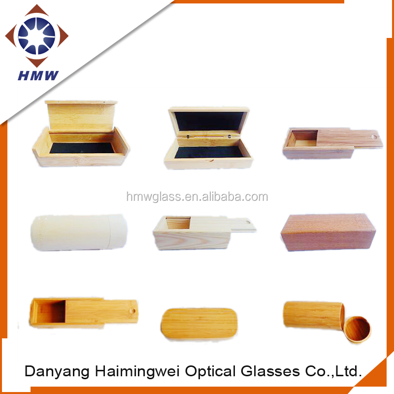 custom cheap wooden sunglasses, bamboo case for glass