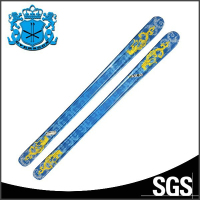 ABS sidewall customerized paulownia wood core popular design race ski