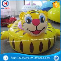 Kids electric boat/inflatable kids bumper boats for swimming pool