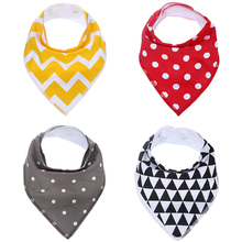 Two button adjustable soft baby bibs printed custom silicone bibs