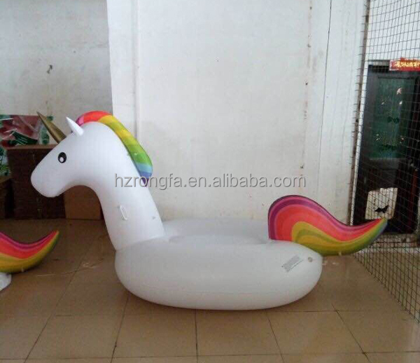 factory whlesale good quality ce certificatepvc giant inflatable unicorn