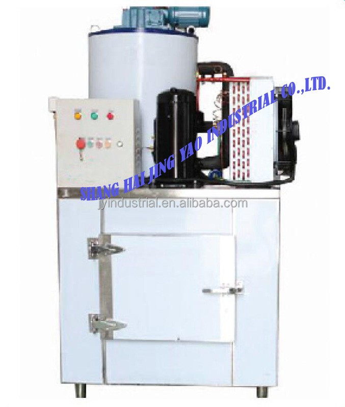 best selling salt water flake ice machine top quality cube making