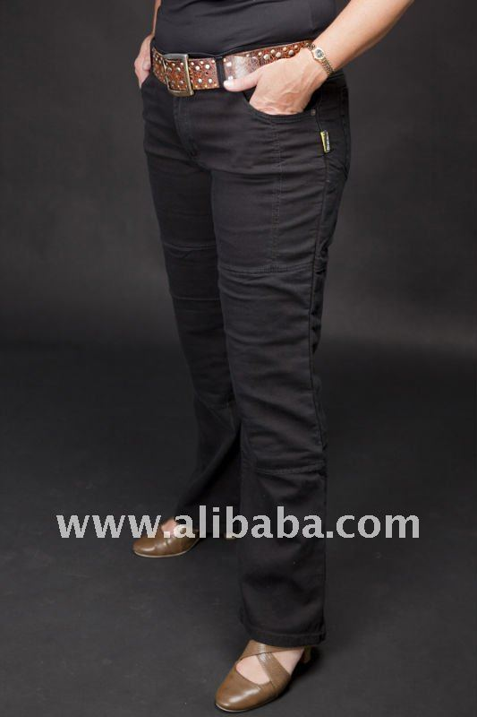Ladies branded Kevlar Motorbike Jeans