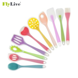 Complete Silicone Kitchen Utensil Set 10 piece