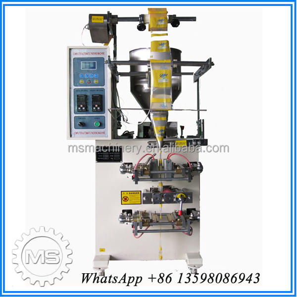 New pattern snacks powder packing machine production line
