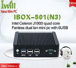 China computer hardware IBOX-501 N11 barebone system ubuntu mini pc windows10