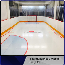 high glide synthetic ice rink by 100% uhmw-pe raw material