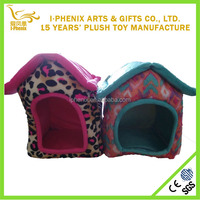 China supply Dog Plush pets house sitting standing cushion stuffed soft toys