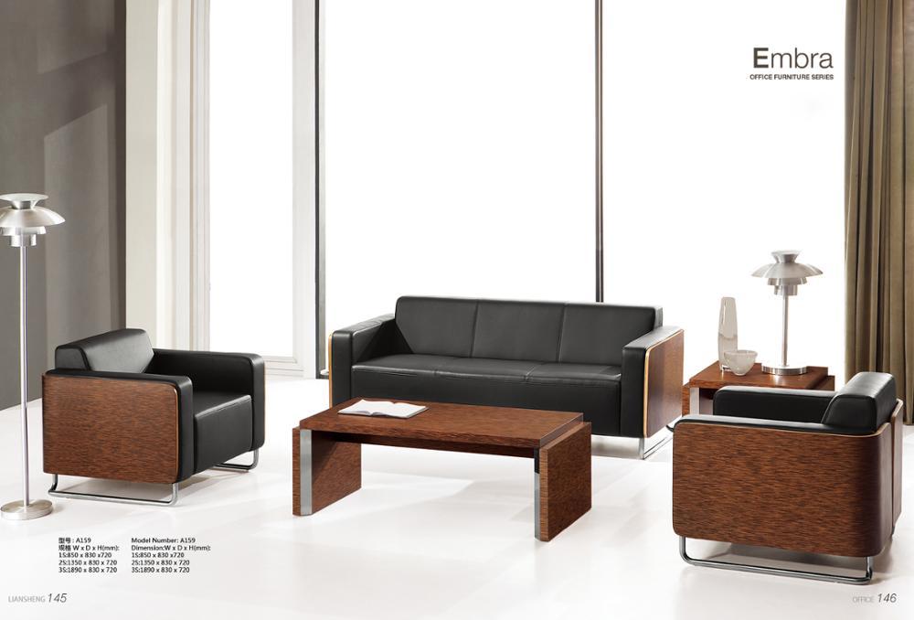 Modern Style Furniture Living Room Sofa New Design Leather Sofa Bending  Plate Sofa Set Designs