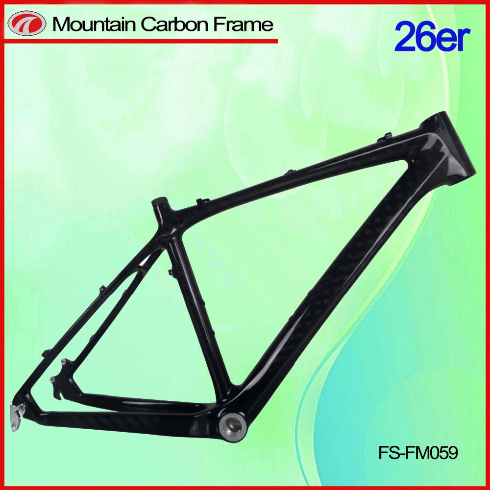 BB BSA high quality mtb carbon frame mtb carbon carbon 26er mtb frame FM059 2016 new design