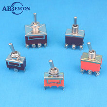 CE&RoHS with protecting cap on on dpdt momentary lighted toggle switch 12v
