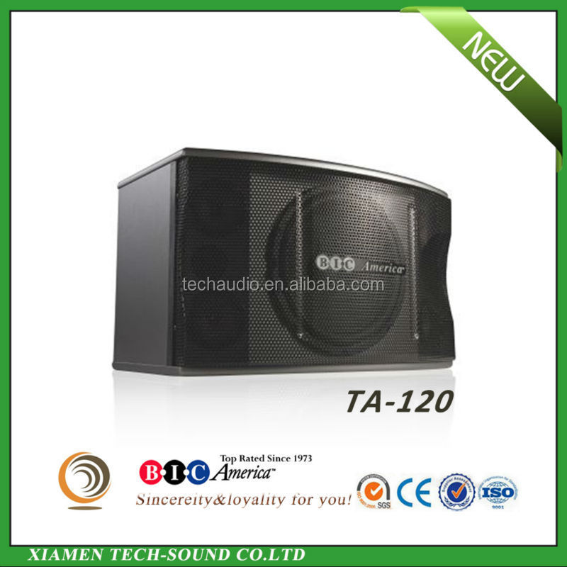 TA-120 12inch passive three way professional karaoke speakers systems