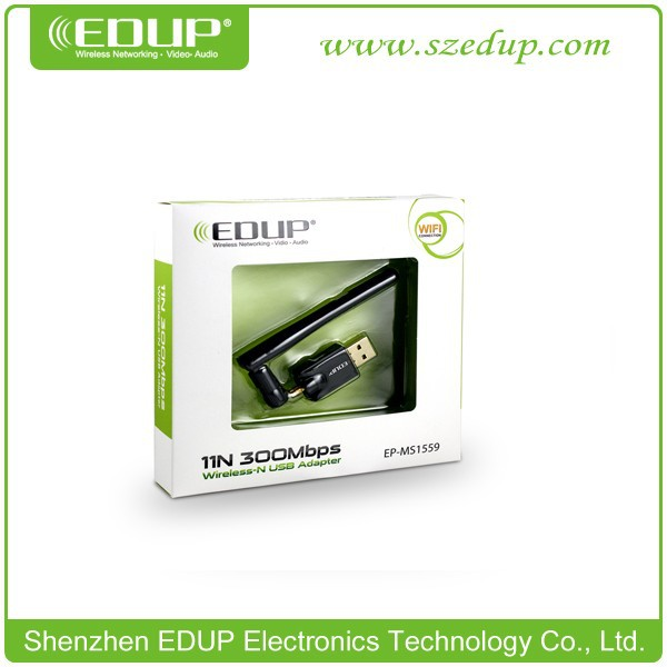 EP-MS1559 300Mbps USB Network Adapter USB Internet Dongle wifi antenna types EDUP Wifi Adapter