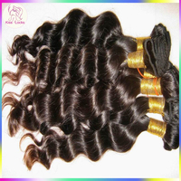 Halo Cabelo Factory Virgin Vienamese Women Loose Wave Human Hair Extensions Brownish Natural Color 1 kilo Wholesale Price TOP 7A