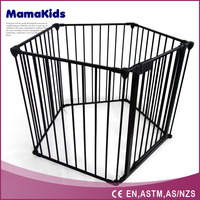 2016 New European standard luxury baby playpen outdoor children play fence